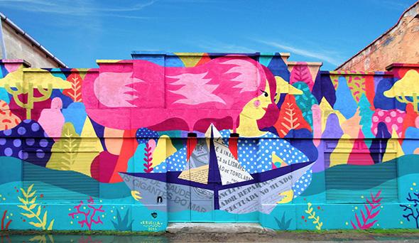 I graffiti caleidoscopici di Kruella d'Enfer