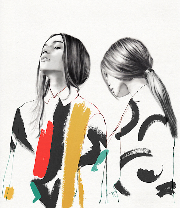 Tra moda e arte: Lucie Birant