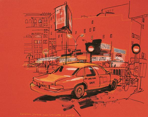 Le città illustrate di Lucinda Rogers