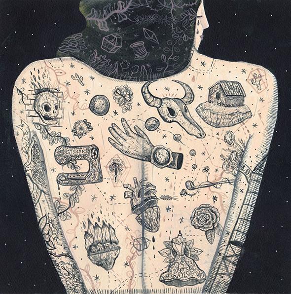 Le illustrazioni-tattoo di Margherita Paoletti