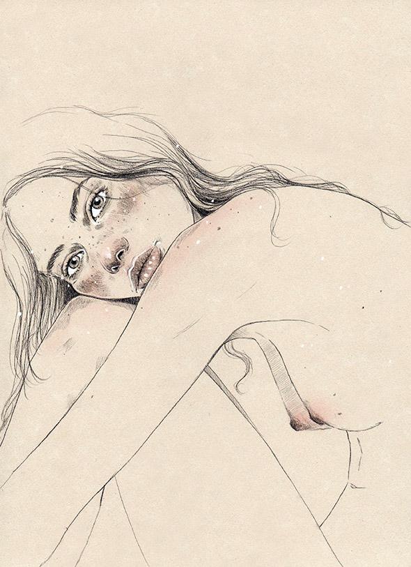 Tutto il fascino della semplicità nei ritratti autobiografici di Marìa Ponce (NSFW)