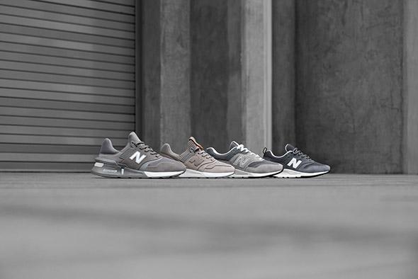 """Grey Day 2019: cinque modelli iconici di New Balance arrivano in colorazione """"full grey"""""""