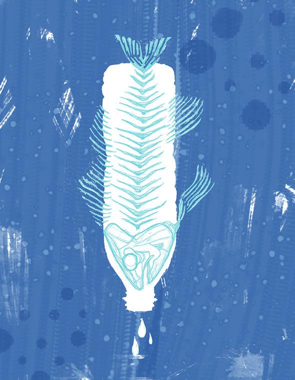 oceani plastica picame rachael amber fish plastic bottle