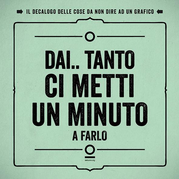 10 frasi da non dire mai ad un Graphic Designer #nondirloalgrafico