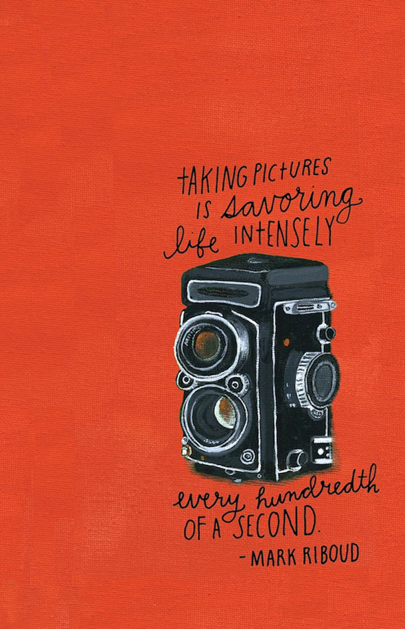 Illustrated Photography Quotes