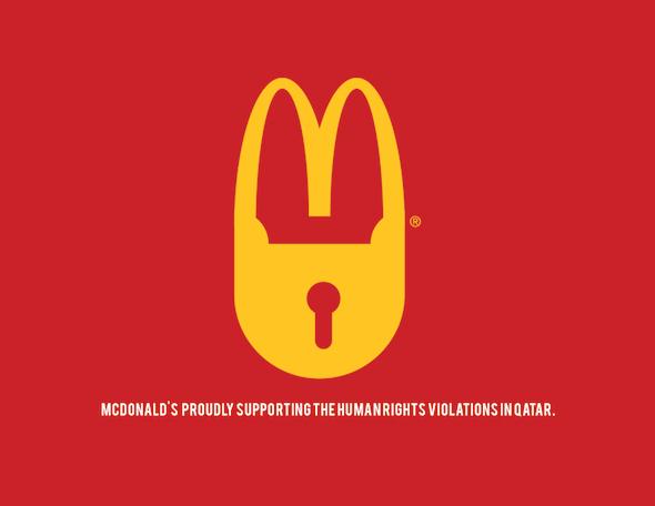 Qatar 2022 Anti-Logos: il Web in rivolta