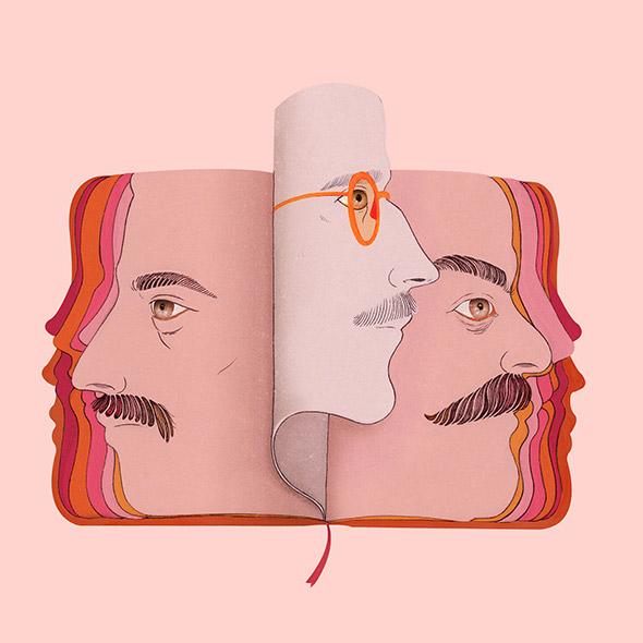 """Le illustrazioni """"letterarie"""" di Raquel Aparicio"""