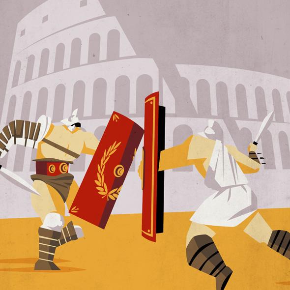 Roma ID: la storia illustrata della città eterna
