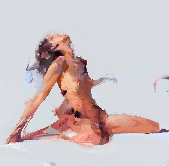 Arte erotica: i dipinti ad olio di Senior Coconut (NSFW)