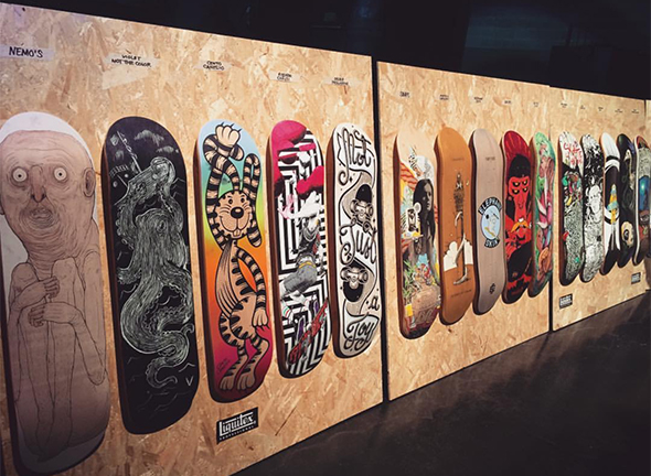 Skate e illustrazione: vi raccontiamo uno (stra)ordinario giovedì milanese