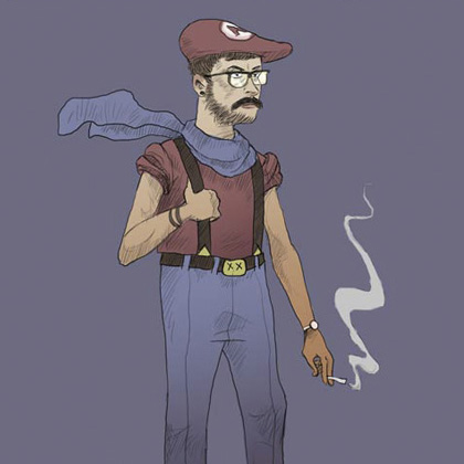Super Mario Hipsters