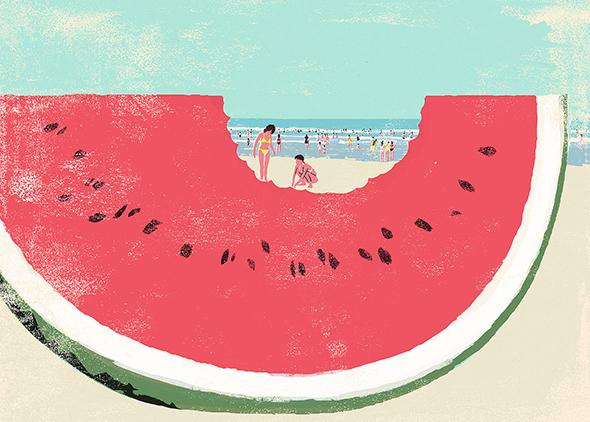 Le illustrazioni di Tatsuro Kiuki