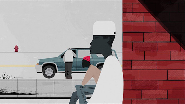 L'omaggio video illustrato alla serie cult The Wire
