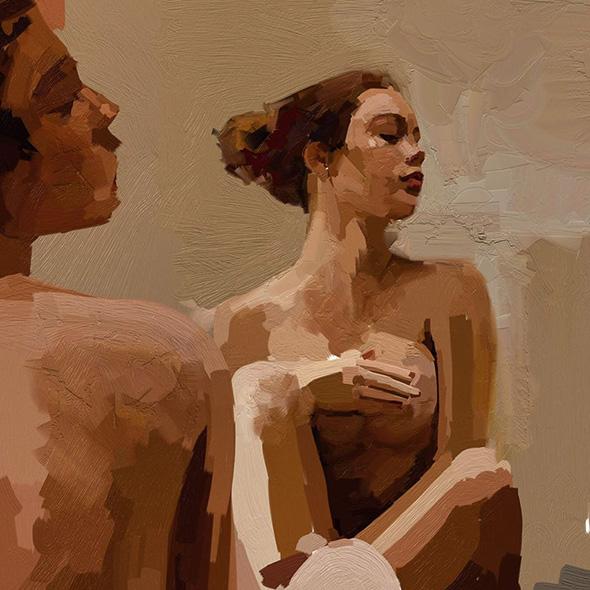 I dipinti a olio fatti col tablet di Tito Merello