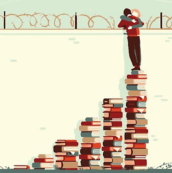 La raccolta delle più belle illustrazioni sui libri [parte 1]