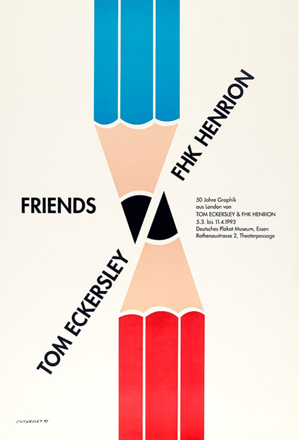 Tom Eckersley – Master of the Poster