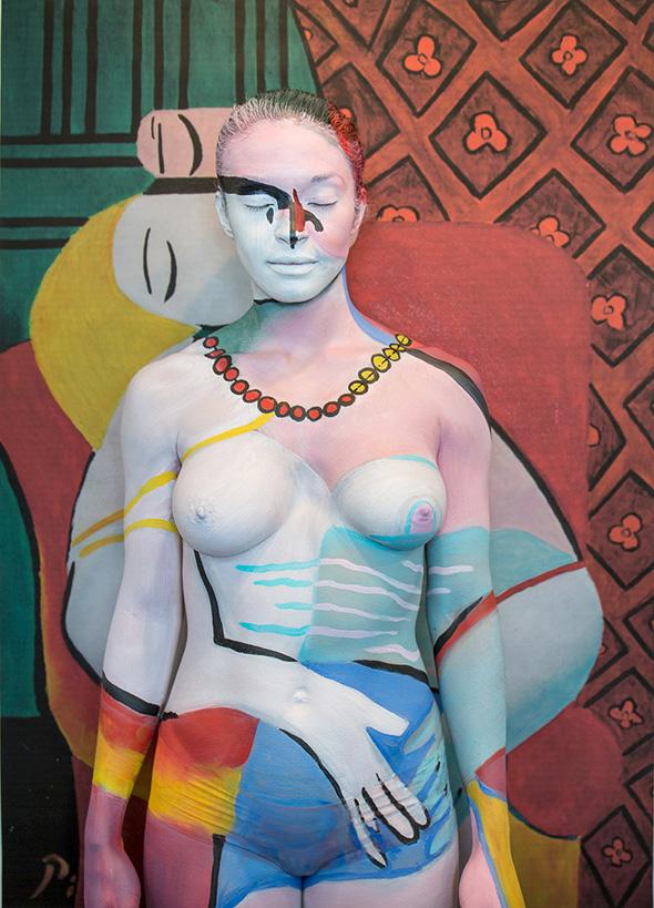 Arte dell'illusione: 15 formidabili bodypainting di Trina Merry