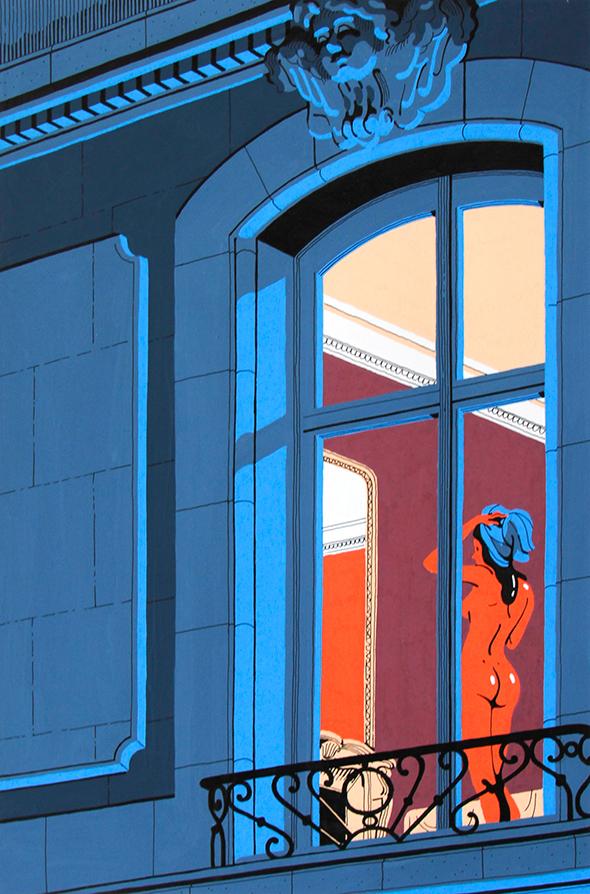 Illustrazione alla finestra: Vincent Mahé