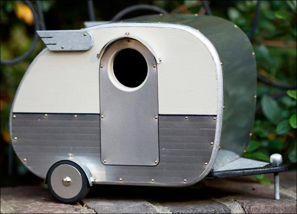 Vintage Camper Birdhouses