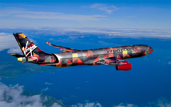 Virgin Atlantic Plane Design