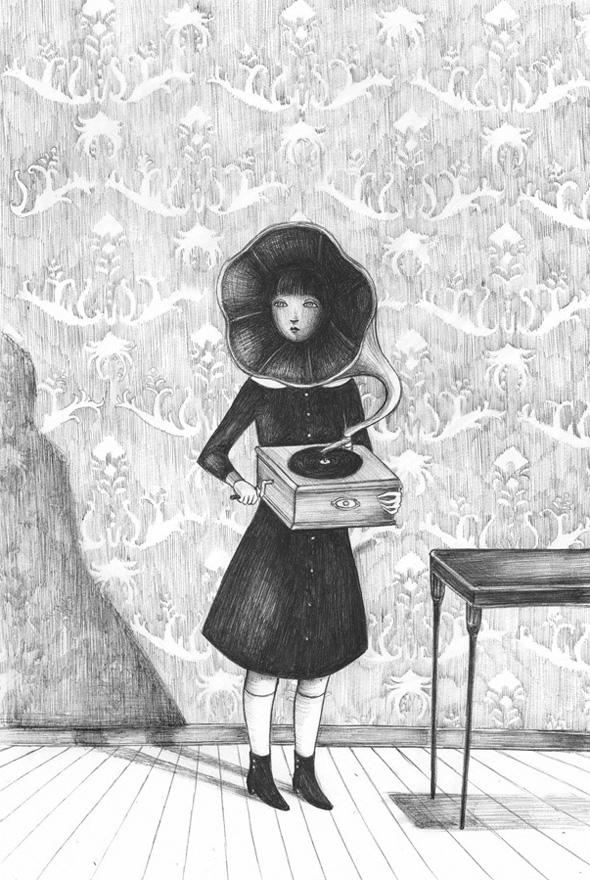 Virginia Mori e la sua penna Bic
