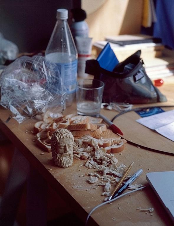 Compressed Bread Sculptures
